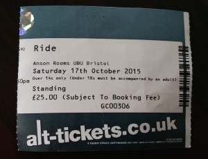 Ride ticket